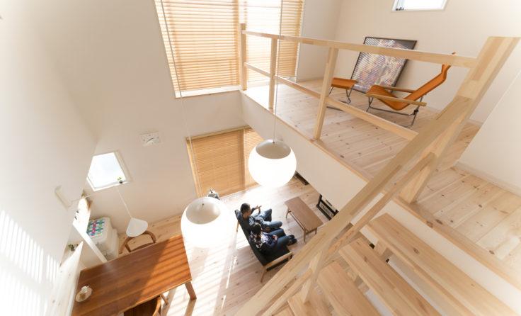 施工事例/3つの『家事ラク』回遊動線と、吹抜リビングのあるガルバのお家 更新しました