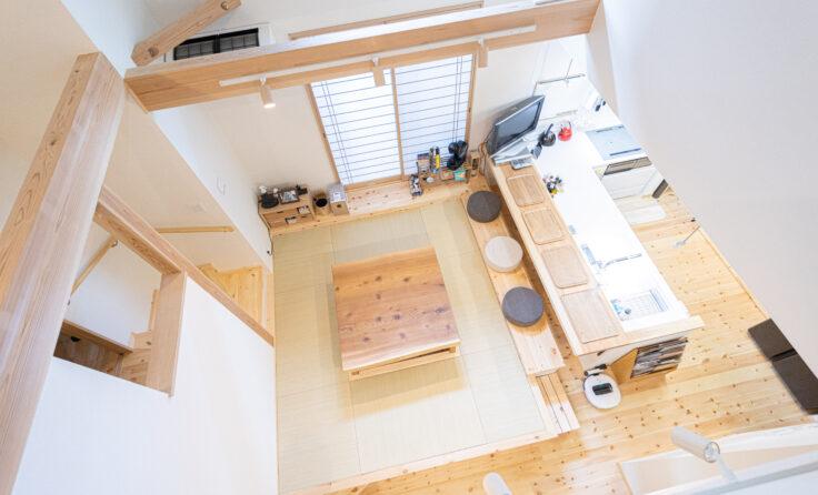 施工事例/スキップフロアのお部屋がある免震住宅 更新しました